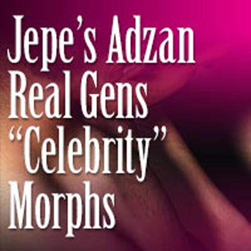 Jepe's JARG 2.0 Celebrity Morphs (Add-On)