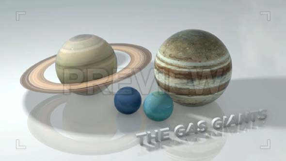 Marble Gas Giants