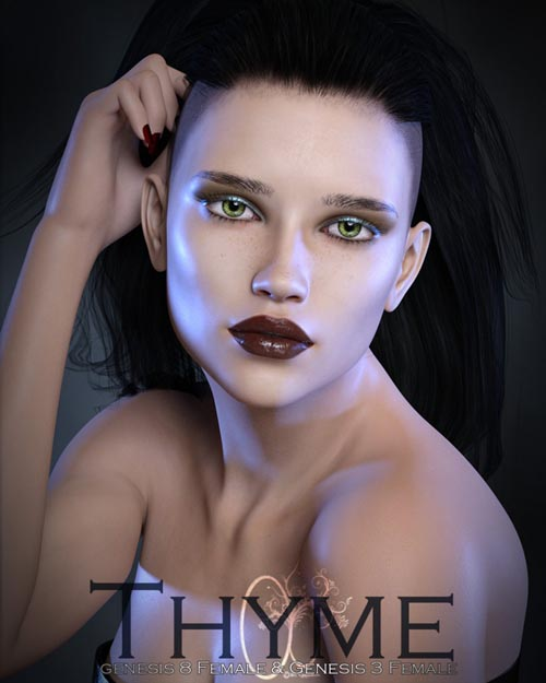 CB Thyme for Genesis 3 and 8 Female