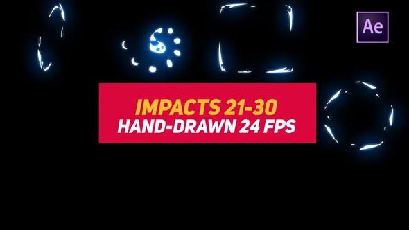 Liquid Elements Impacts 21-30