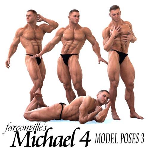 Farconville's Model Poses 3 for Michael 4