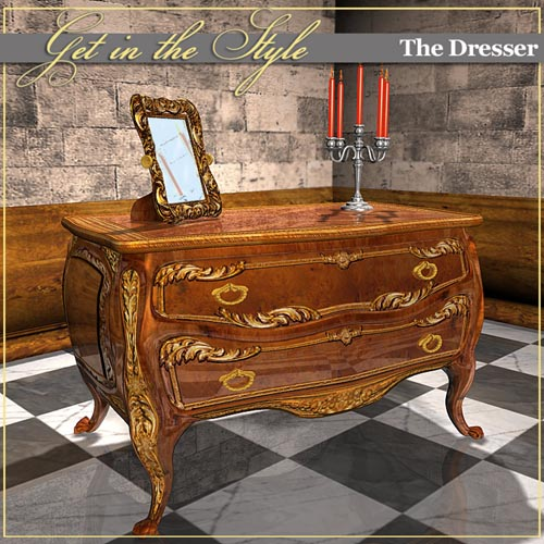 Get in the Style -Louis XV dresser-