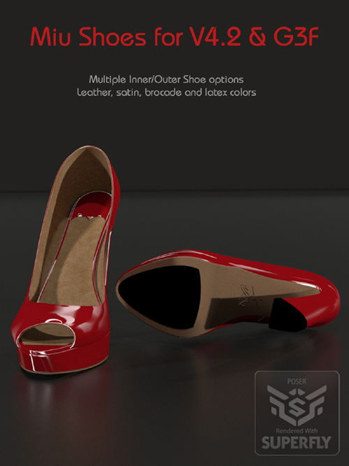 Miu Shoes for V4.2 and G3F