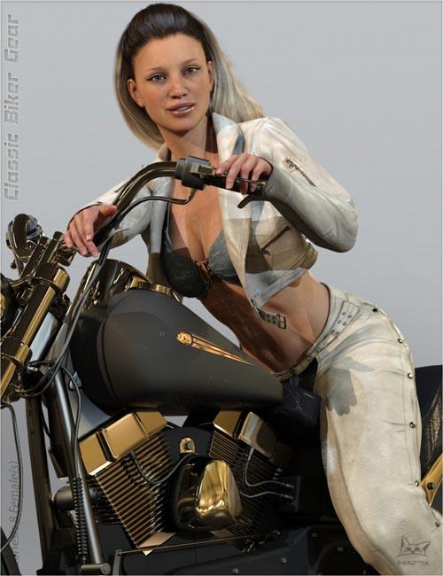 Classic Biker Gear for Genesis 8 Female(s)