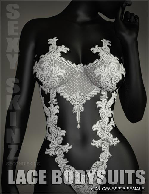 Sexy Skinz - Lace Bodysuits for Genesis 8 Female
