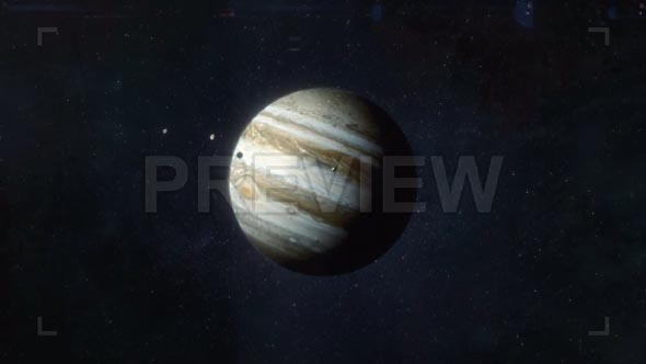 Approaching The Planet Jupiter