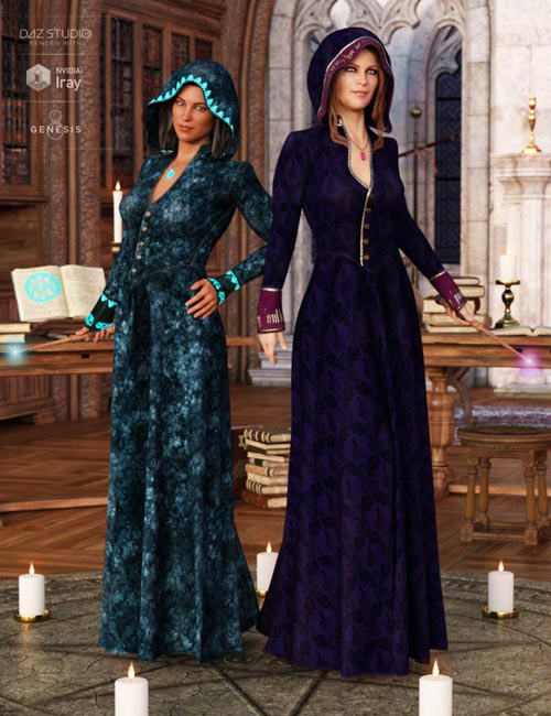 Sorceress Apprentice Outfit Textures