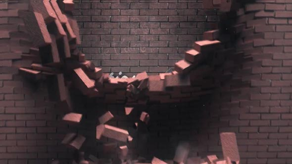 Falling Bricks Logo