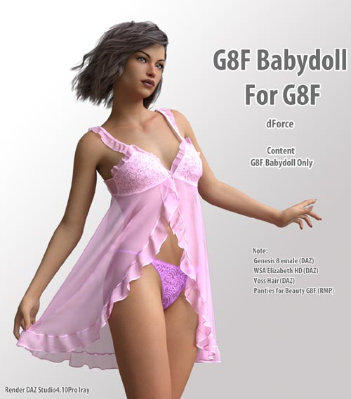 dForce Babydoll for G8F