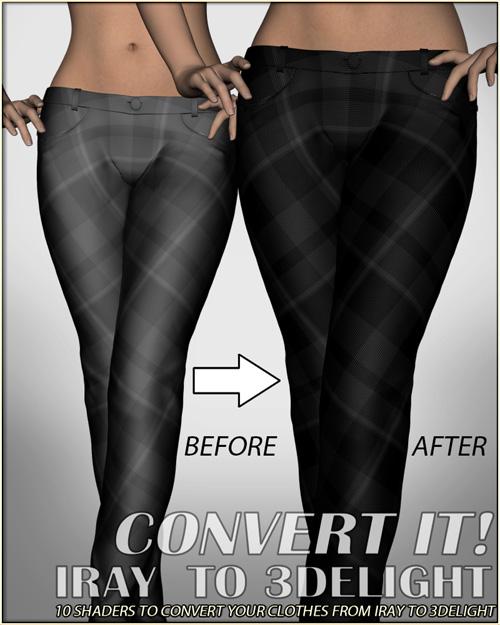 Convert It! - Iray to 3Delight