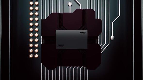 Technology Cube Logo Reveal