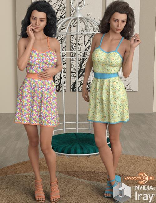 VERSUS - dForce Daphne Outfit for Genesis 8 Females