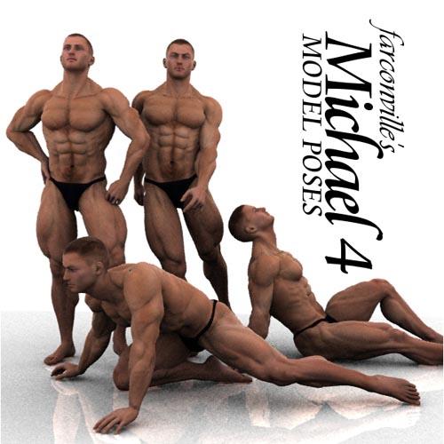 Farconville's Model Poses for Michael 4