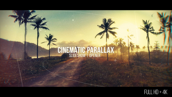Cinematic Parallax Slideshow (With 5 March 18 Update)
