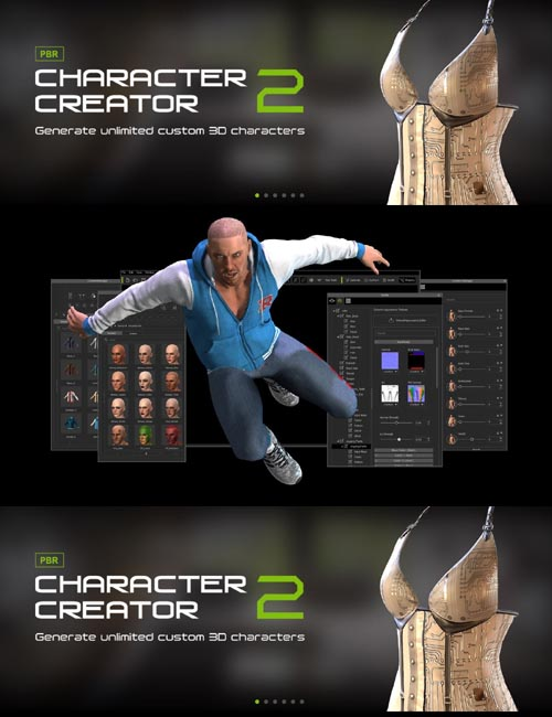 Character Creator 2.3.