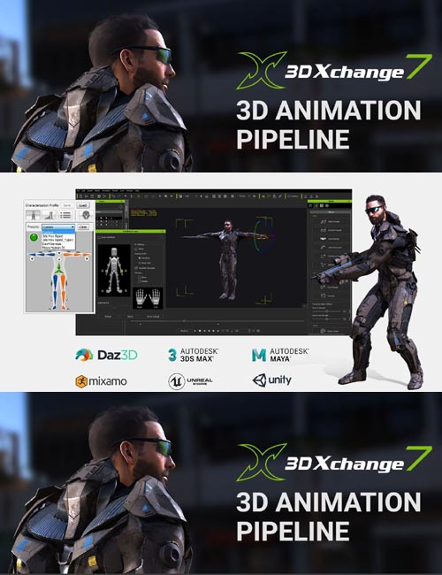 3DXchange Pipeline 7.2.