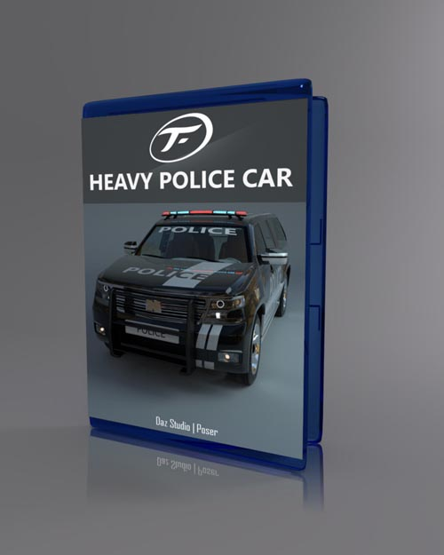 Heavy Police Car