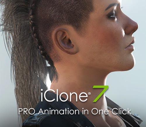iClone Pro 7.2