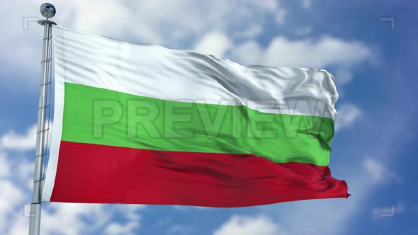 Bulgaria Flag Animation