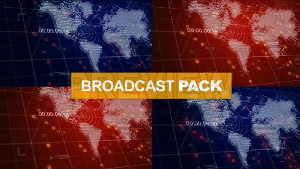 4 in 1 News Broadcast Pack