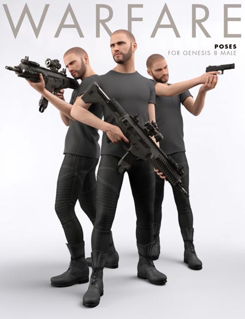 Warfare Poses for Genesis 3 Male