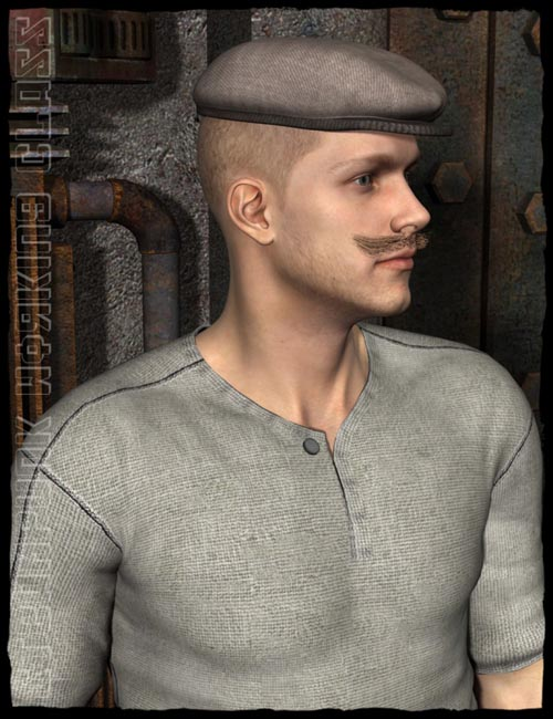 SteamPunk Working Class for Genesis 2 Male(s)