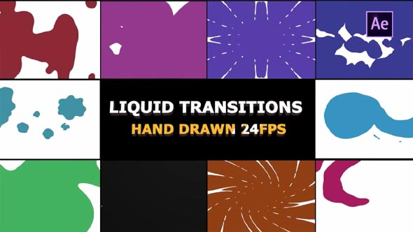 2D FX Liquid Transitions