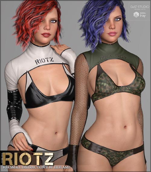 Riotz for Small Distraction II Genesis 8 Females