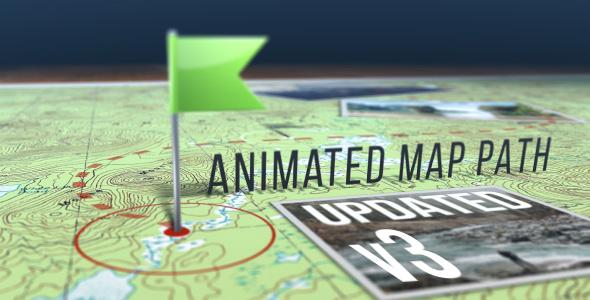 Animated Map Path v.3