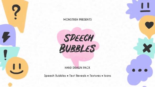 Speech Bubbles - Hand Drawn Pack