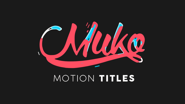 Motion Titles Animated
