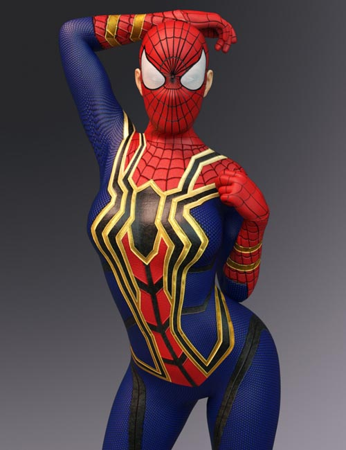 X-Fashion Arachnid Outfit for Genesis 8 Female(s)