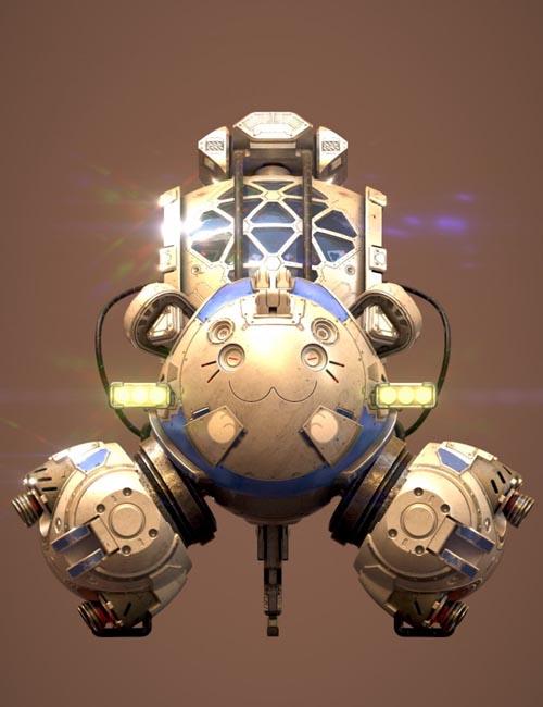 Sci-Fi Cat Car