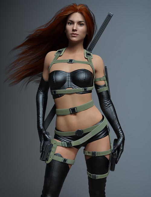 Tactical Belts for Genesis 3 and 8 Female(s)