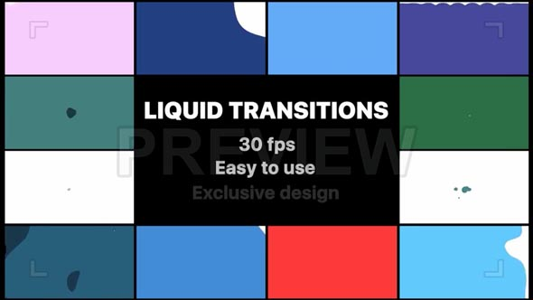 Liquid Motion Transitions
