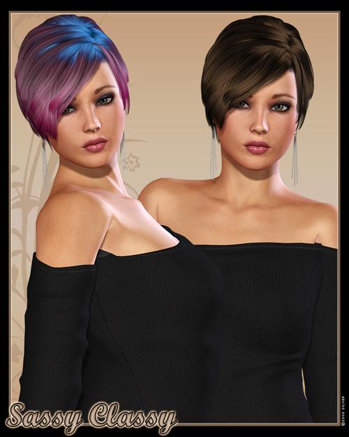 Sassy Classy Hair for V4