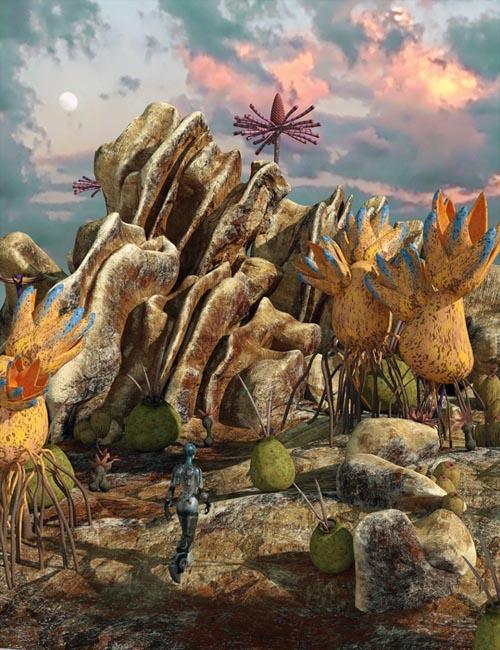 Alien Landscape Construction Set