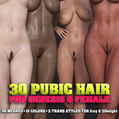 30 Pubic Hair For G8 Female