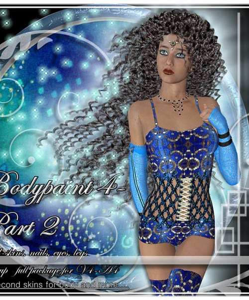 °°BODYPAINT-V4/A4°° Big Pack 38 Secondskins PLUS MORE Volume 2