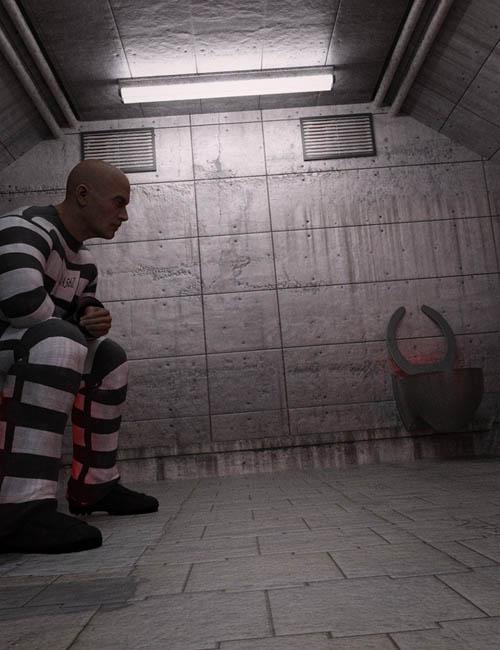 Sci-fi Prison Cell