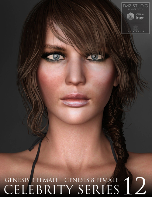 Celebrity Series 12 for Genesis 3 and Genesis 8 Female