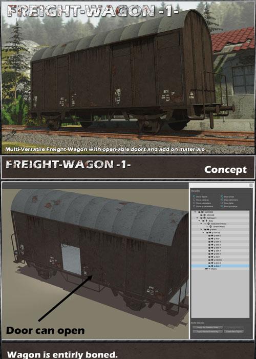 Freight Wagon 1