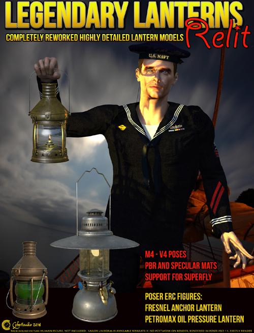 Legendary Lantern - Relit