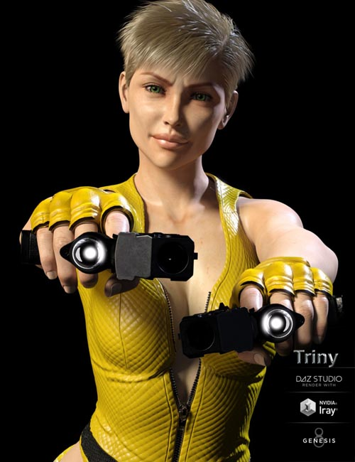 Triny for Genesis 8 Female