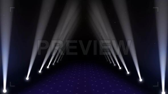 Stage Lighting Animation