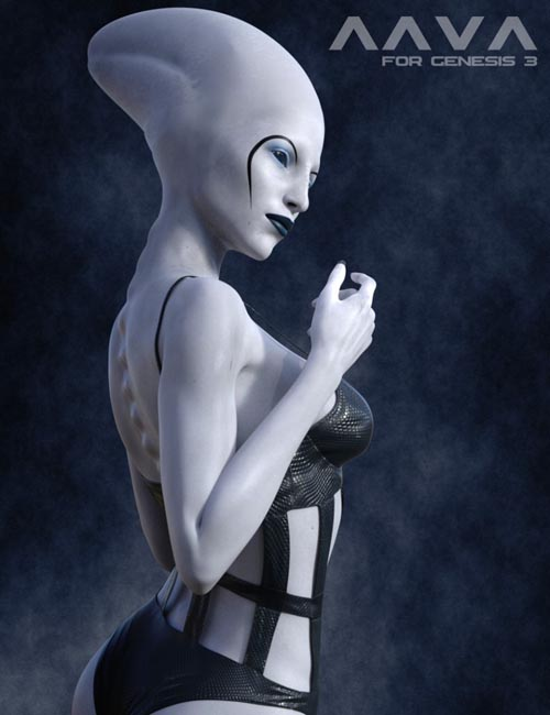 Aava Alien Species for Genesis 3 Female