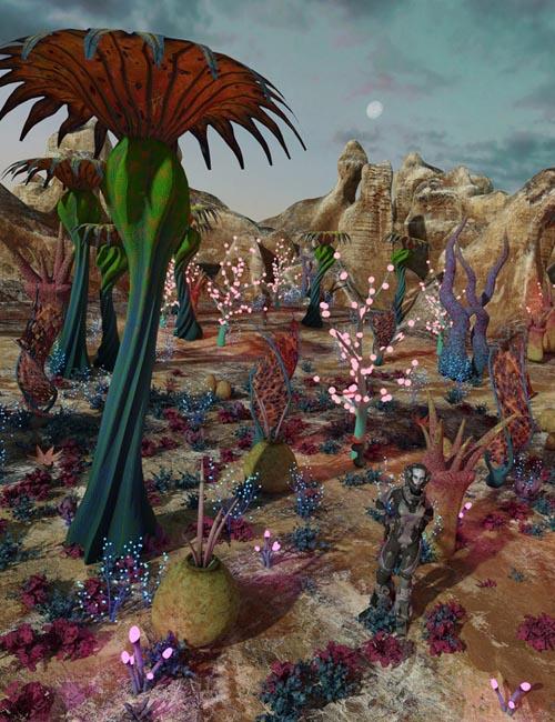 Alien Botanicals 3 Iray