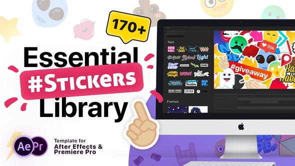Essential Stickers Library