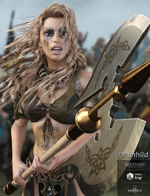 Brunhild for Genesis 8 Female