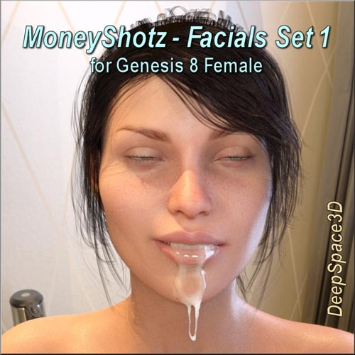MoneyShotz - Facials Set 1 For Genesis 8 Female